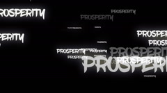 Business Related Words Background Loop Stock Footage