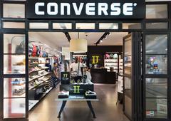 Converse store in Suria KLCC mall, Kuala Lumpur, Malaysia Stock Photos