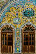 Golestan Palace in Tehran, Iran Kuvituskuvat