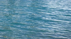 Glistening Blue Water Waves Stock Footage