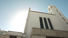 Our lady Fatima Church - Lisboa Stock Footage