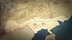 Nanyue Kingdom,Unity of the Western Han Empire Stock Footage