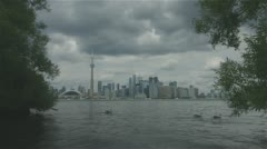 Toronto Waterfront Timelapse Stock Footage