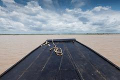 Boat journey Stock Photos