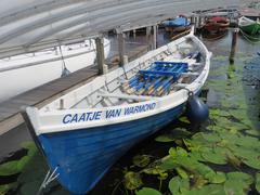 Gig Rowing boat of KWV de Kaag (Holland) Stock Photos
