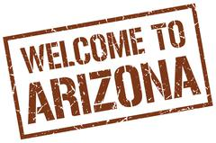 Welcome to Arizona stamp Piirros