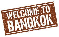 Welcome to Bangkok stamp Piirros