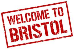 Welcome to Bristol stamp Piirros