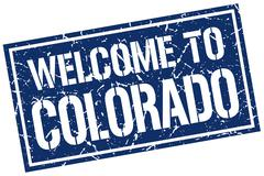 Welcome to Colorado stamp Piirros