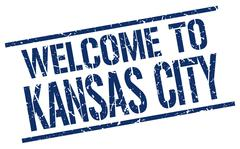 Welcome to Kansas City stamp Piirros