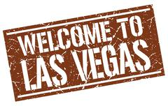 Welcome to Las Vegas stamp Piirros