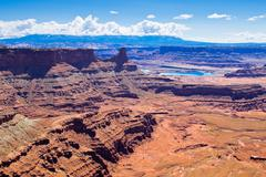 Dead Horse Point State Park in Utah, North America Stock Photos