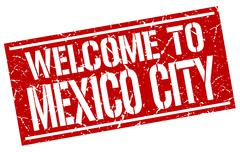 Welcome to Mexico City stamp Piirros