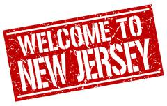 Welcome to New Jersey stamp Piirros