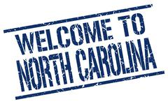 Welcome to North Carolina stamp Piirros