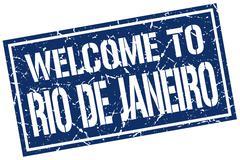 Welcome to Rio De Janeiro stamp Piirros