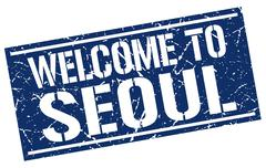 Welcome to Seoul stamp Piirros