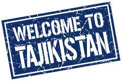 Welcome to Tajikistan stamp Piirros