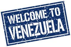 Welcome to Venezuela stamp Piirros