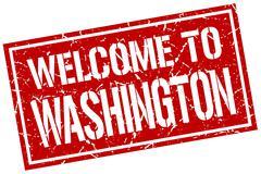 Welcome to Washington stamp Piirros