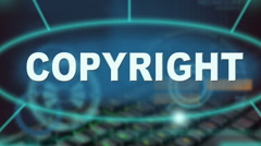 Copyright Stock Footage