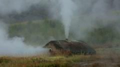 Iceland Geyser Strokkur Stock Footage