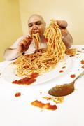 Gluttony Stock Photos
