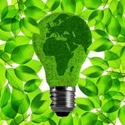 Eco light bulb Stock Photos