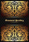 Heraldic ornament Stock Illustration