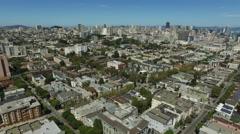 San Fransisco, California, aerial shot Stock Footage