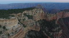 Grand Canyon aerial view Stock Footage