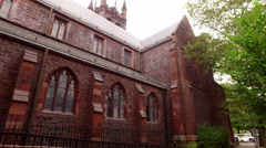 Christ Church episcopal Stock Footage