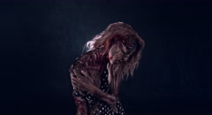Horror zombie. Stock Footage