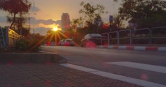 Point of view ground. Stock Footage