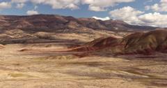 Painted Hills, Oregon Stock Footage