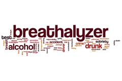 Breathalyzer word cloud Piirros