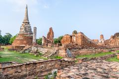 Wat Phra Mahathat temple Stock Photos