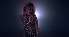 Horror zombie. Stock Footage