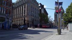 Elgin Street Ottawa Downtown Stock Footage