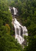 Whitewater Falls in Jocassee Gorge North Carolina Stock Photos