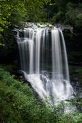 Dry Falls Waterfall near Highlands NC Stock Photos