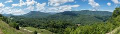 Roadside rest area and overlook in Tennessee Stock Photos