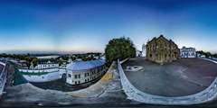 360Vr Video. Observation Deck Kiev Lavra Stock Footage