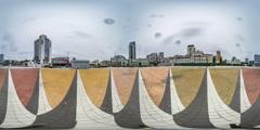 "360Vr Video. Nsk ""olympic"". Kiev Stock Footage"