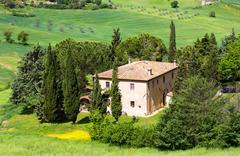 Tuscan rural landscape Stock Photos