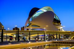 VALENCIA, SPAIN - JULY 21, 2016: Reina (Queen) Sofia Palace of Arts of City o Stock Photos