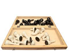 Open Chessboard Stock Photos