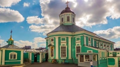 Epiphany Cathedral, Smolensk, Russia Stock Footage