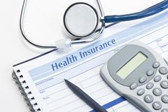 Health Insurance Record Stock Photos