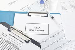 HIPAA Regulations Stock Photos